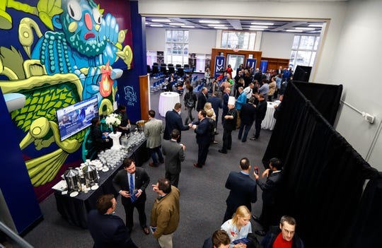 The UMRF Research Park is one of seven national sites selected to host a new federal business incubator program for international leaders in science and technology. The facility opened in January 2019. File photo