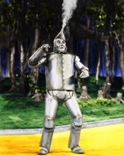 """You'd toot your own horn, too, if your movie was as popular as ever after 80 years: """"The Wizard of Oz,"""" which features Jack Haley as the Tin Man, screens Sunday and Wednesday at the Paradiso."""