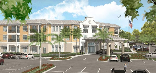 The Marco Island City Council will hear the first reading of ordinance to rezone NCH's property that will facilitate the buildout of an assisted living facility.