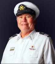 Outgoing Commodore Robert Winterhalter