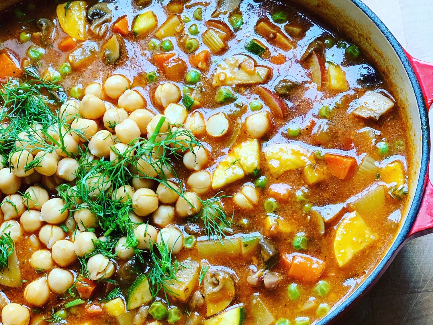 SimpleEats MKE works with clients who follow a variety of diets, including vegan, as in this vegan stew.