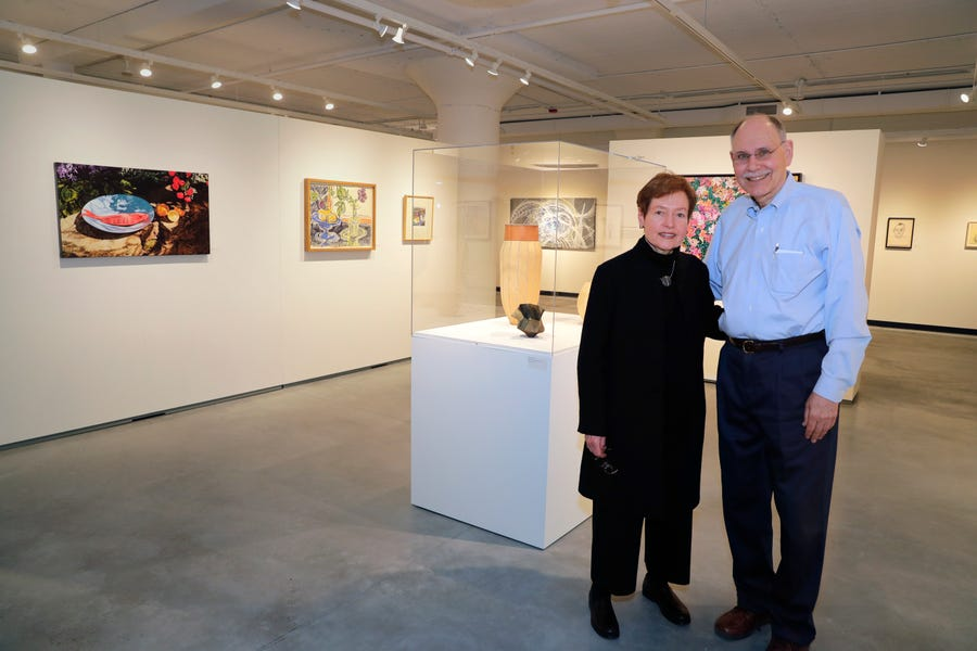 John Shannon and his wife, artist Jan Serr, have opened an art gallery unlike any other in Milwaukee. The couple bought a local warehouse on St. Paul Avenue to store their own significant art collection and to provide art storage services to others. One space, however, is dedicated to showing work, their own and local artists.