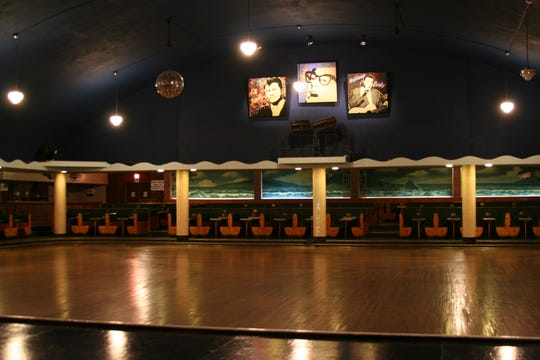 The retro Surf Ballroom in Clear Lake, Iowa, is one of the Rock and Roll Hall of Fame's 11 designated landmarks.