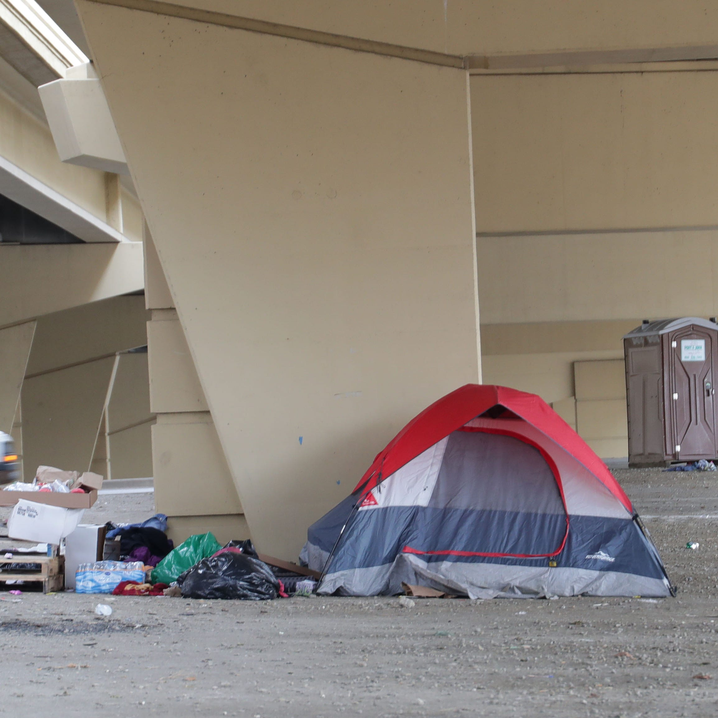 Downtown Milwaukee homeless encampment known as Tent City almost cleared out