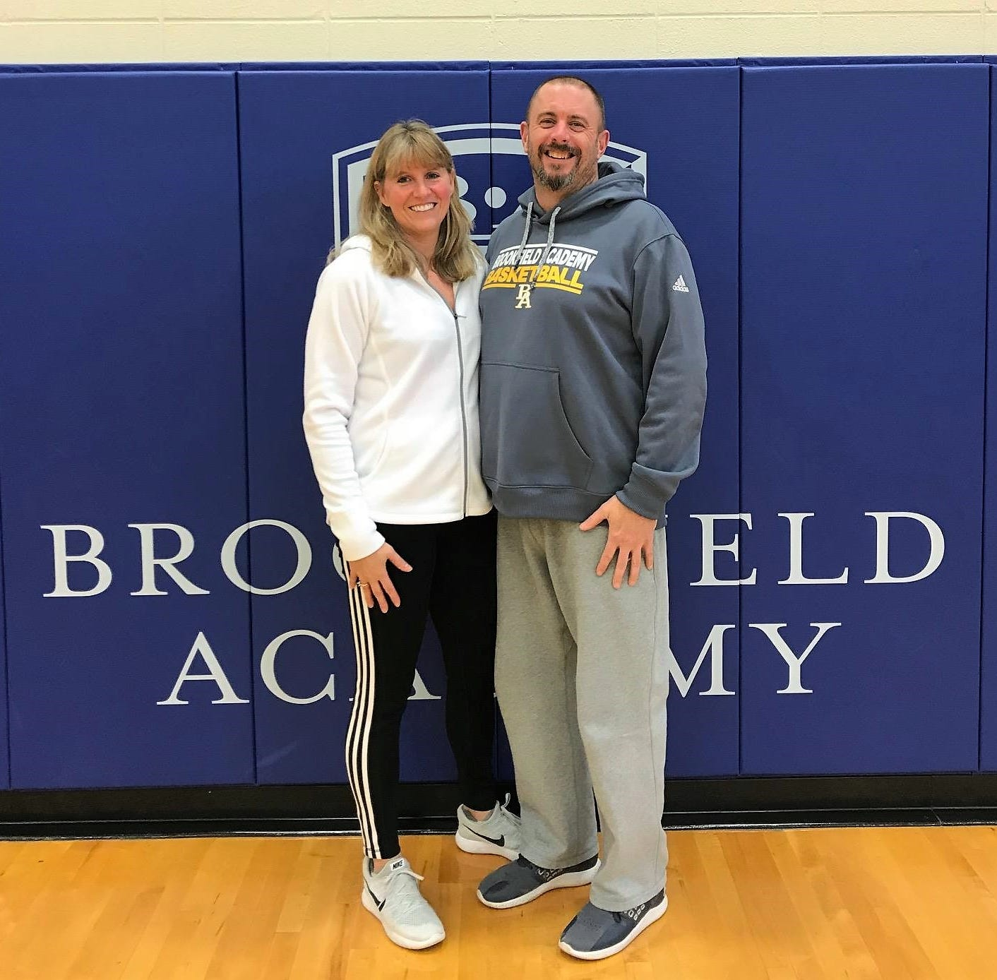 Brookfield Academy, basketball communities rally around cancer-stricken Deanna Clarey, whose husband and son lead boys team
