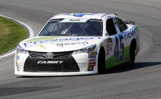 Josh Bilicki raced full-time in the Xfinity Series for the first time last season.