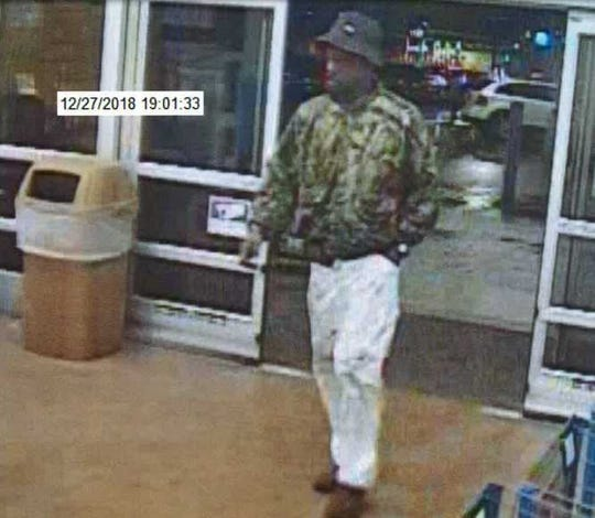 Prattville police are looking for this man in relation to a credit card theft.