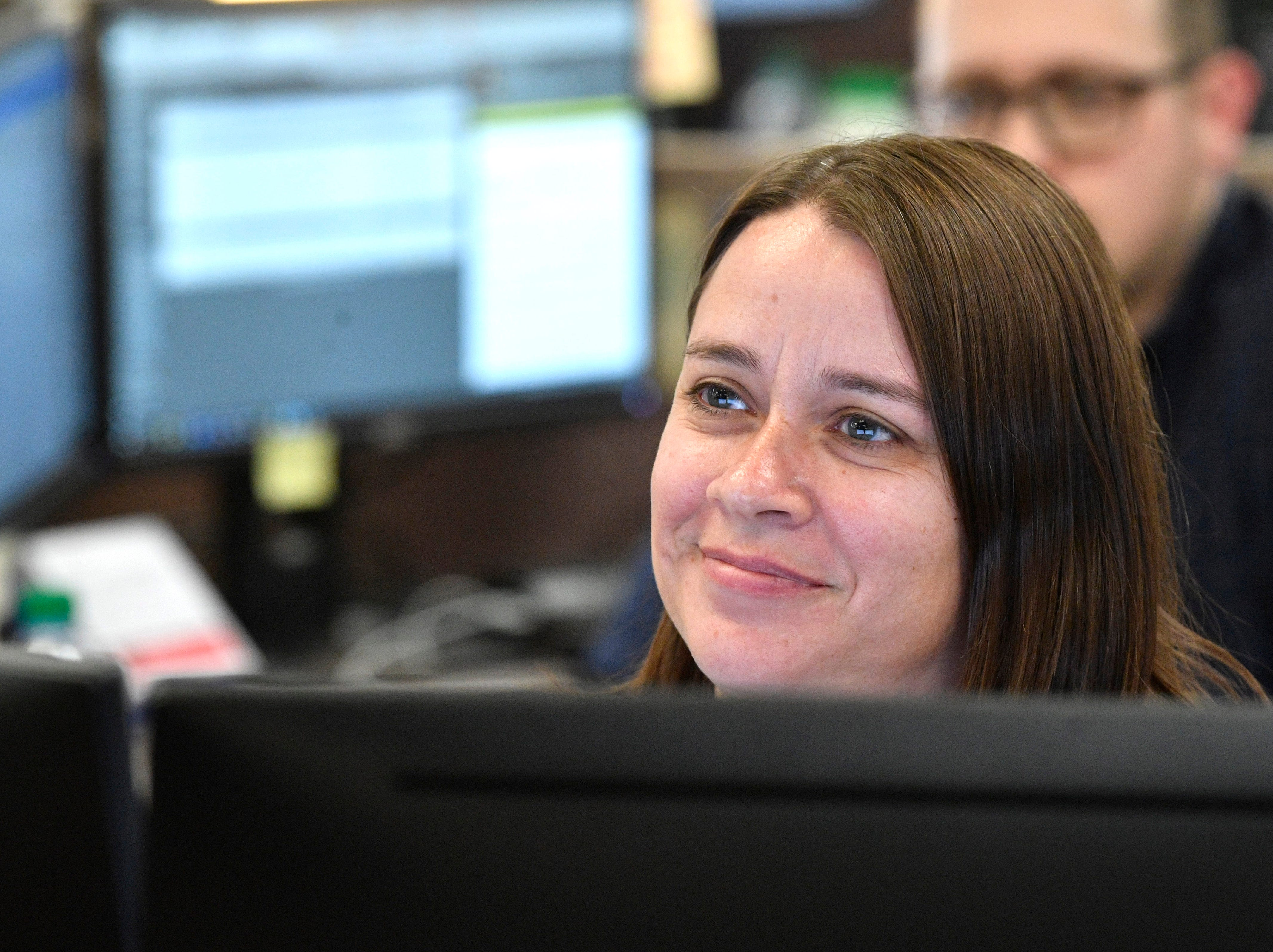 Karen Grigsby is a producer in The Tennessean newsroom Wednesday, Jan. 2, 2019.