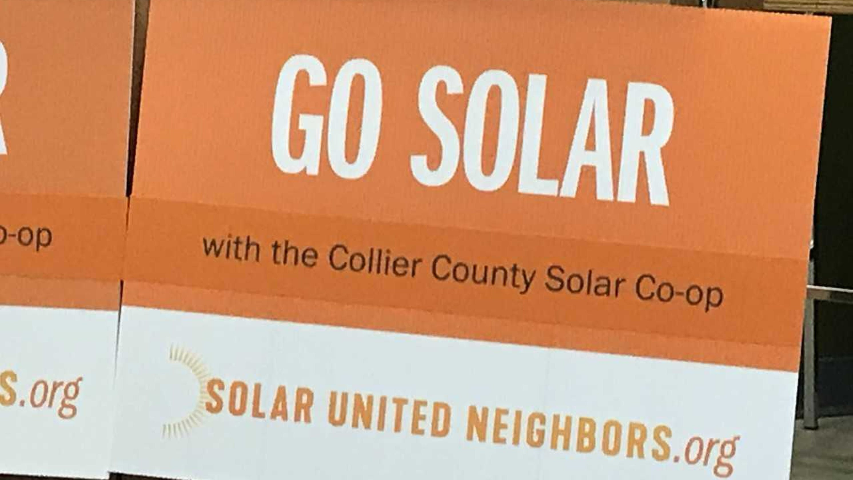 Solar Co-op launches in Collier County