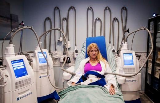 Freeze away fat with CoolSculpting at Pura Vida Medical Spa in Naples