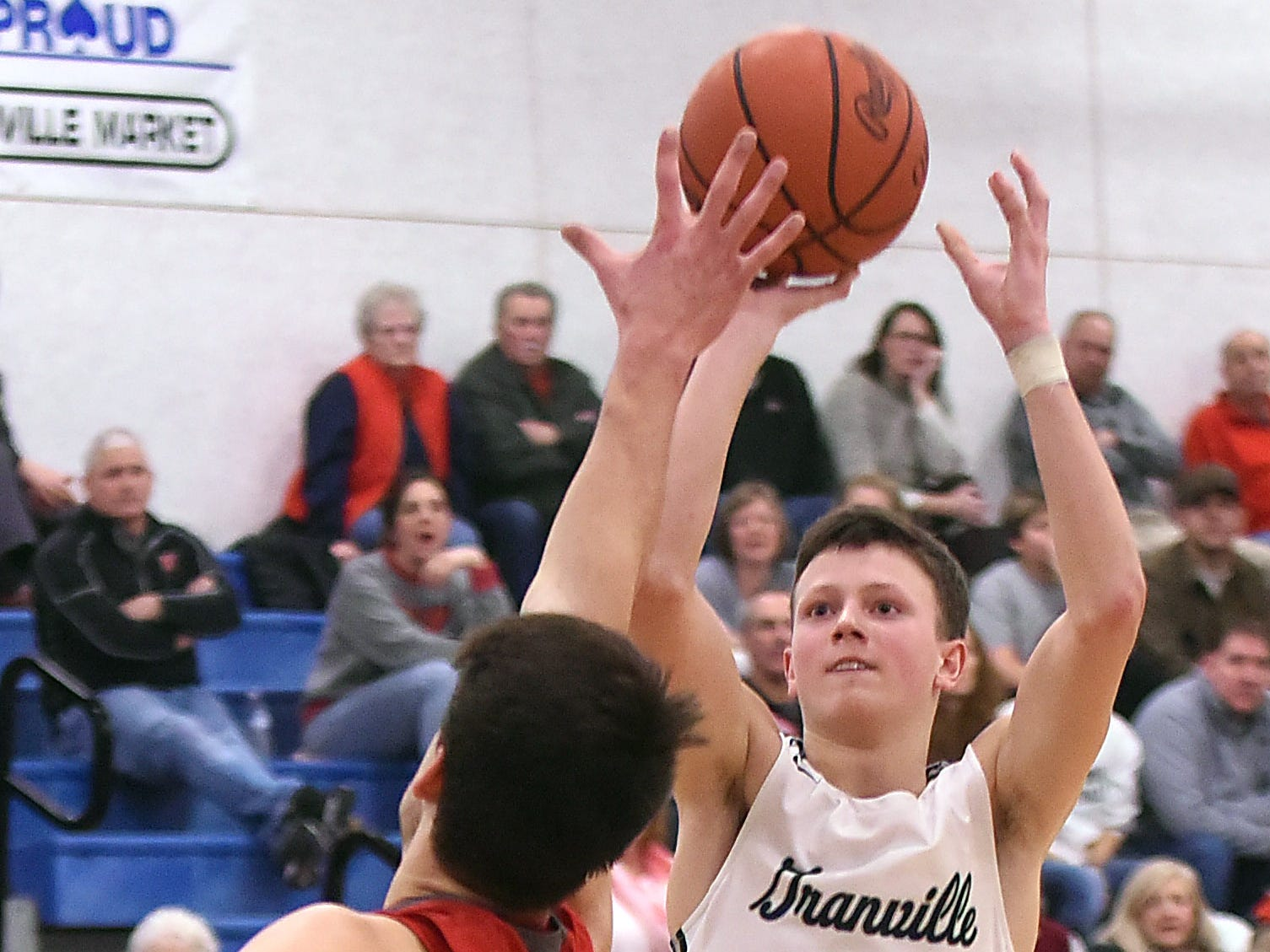 Granville defeated Johnstown 35-32 in double overtime on Wednesday, Jan. 16, 2019 at Granville High School.