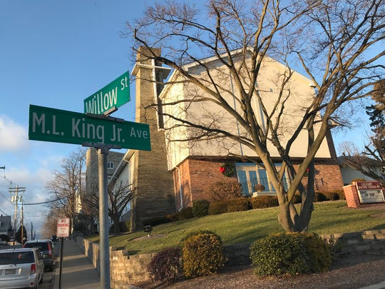 Calvary Baptist Church, Martin Luther King Ave., Morristown