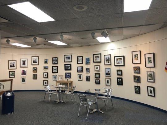 Photo exhibit at Millburn Library Gallery.
