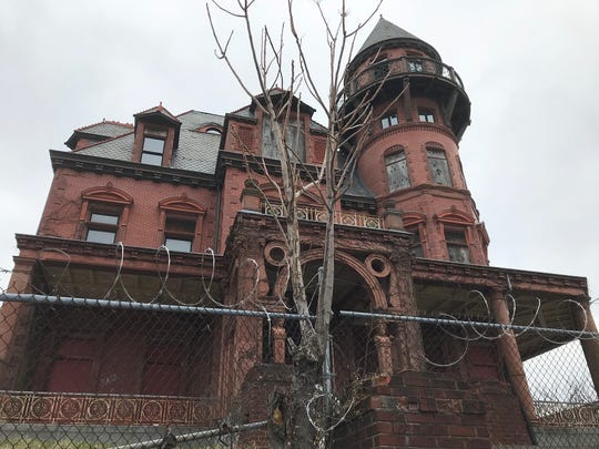 Krueger-Scott Mansion, Martin Luther King Blvd., Newark