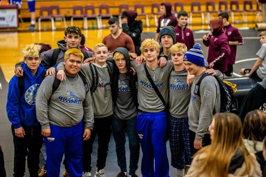 The Butler wrestling team claimed a third-straight divisional title and remained undefeated at 12-0 after defeating Wood-Ridge on the road on Wednesday night.