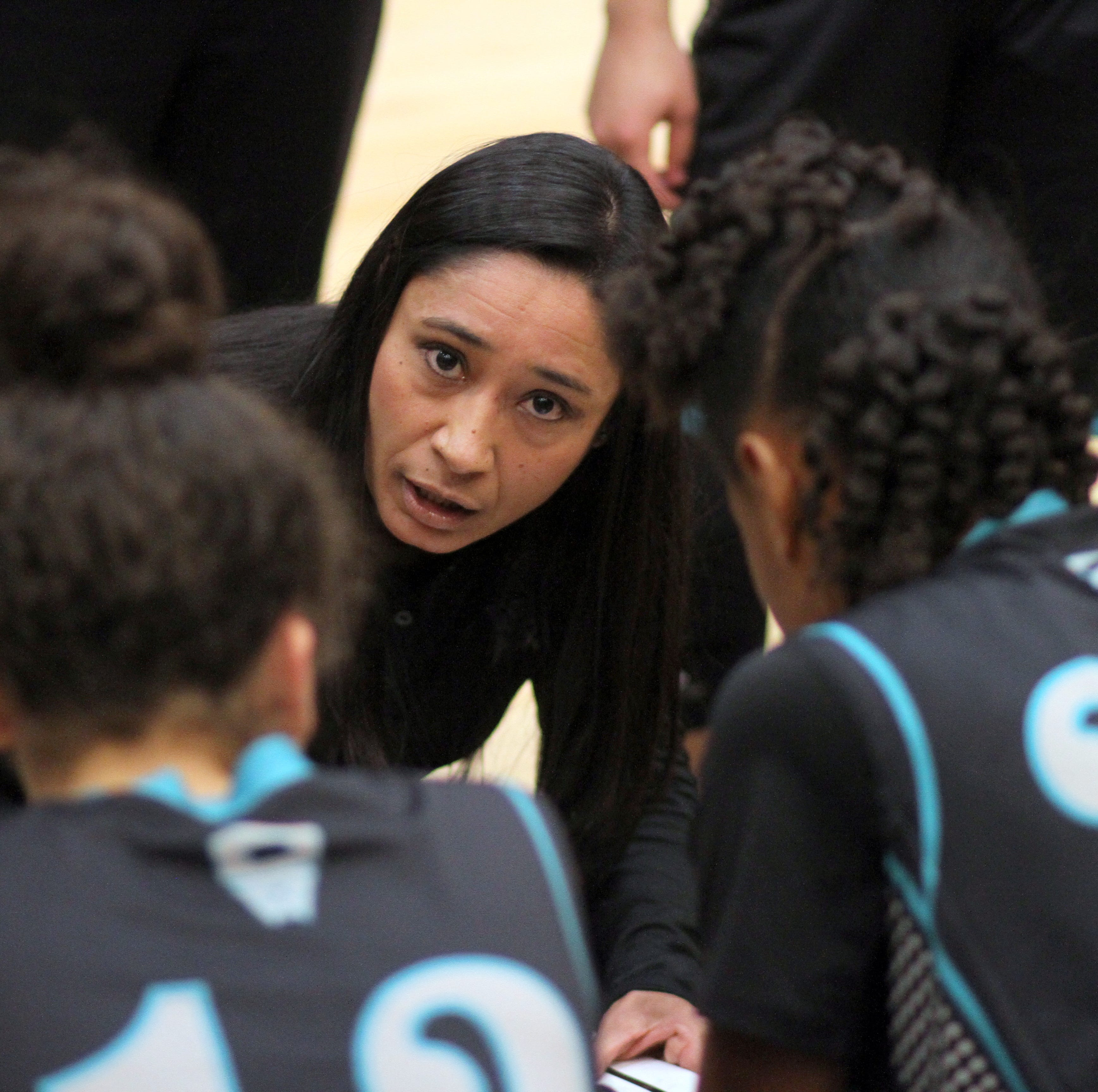 From besties to coaching rivals; Deming coach Kim Garcia and Oñate's Evelyn Reyes