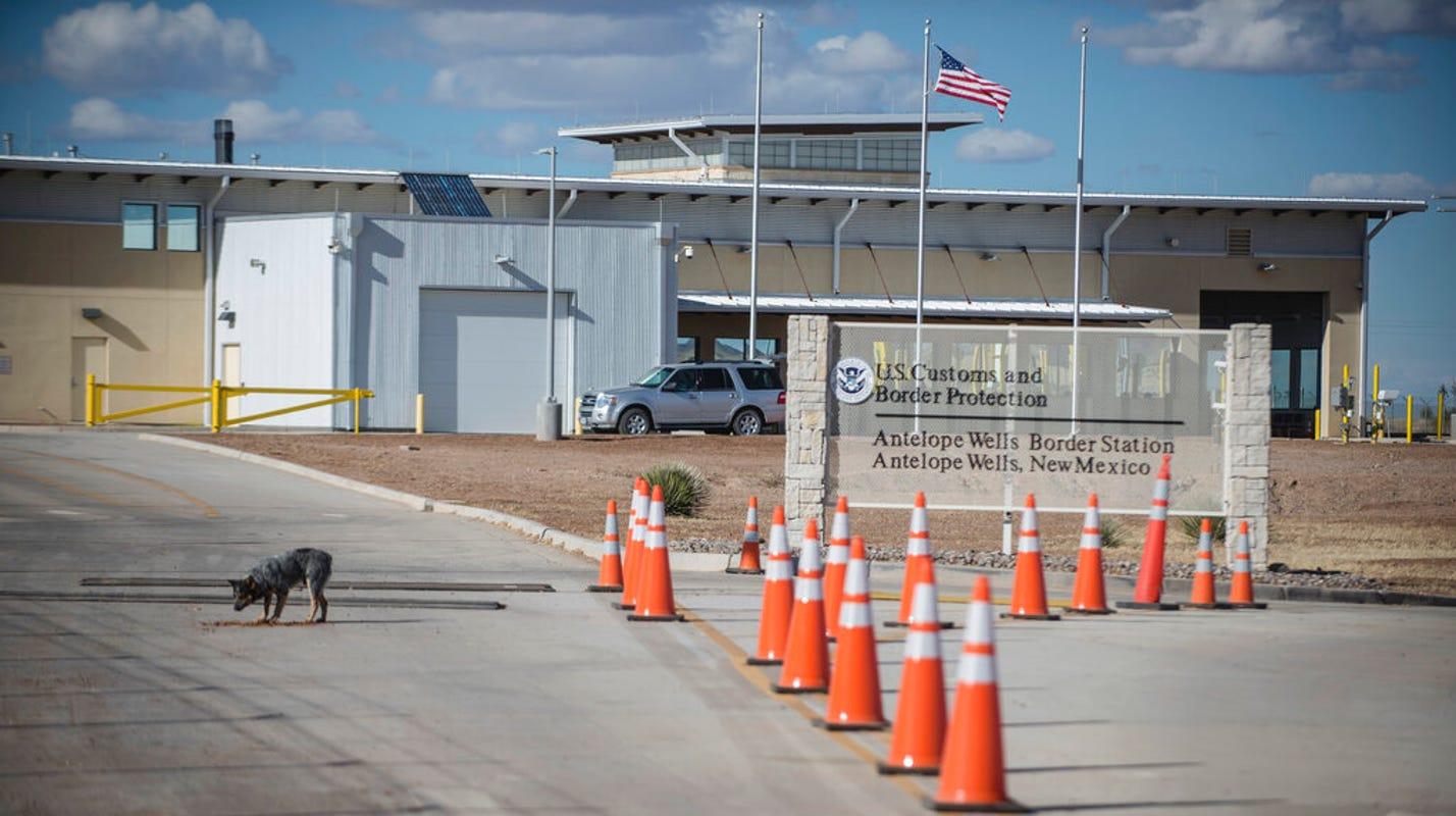 A new group of more than 100 migrants apprehended at Antelope Wells Port of Entry