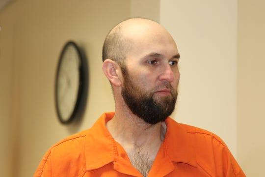 Samuel Cortese walks of a Carlsbad courtroom Thursday.