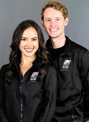 Madison Chock, a 2010 Novi High grad, and Ann Arbor native Evan Bates are two-time Olympians headed to the US Figure Skating Championships at Little Caesars Arena.