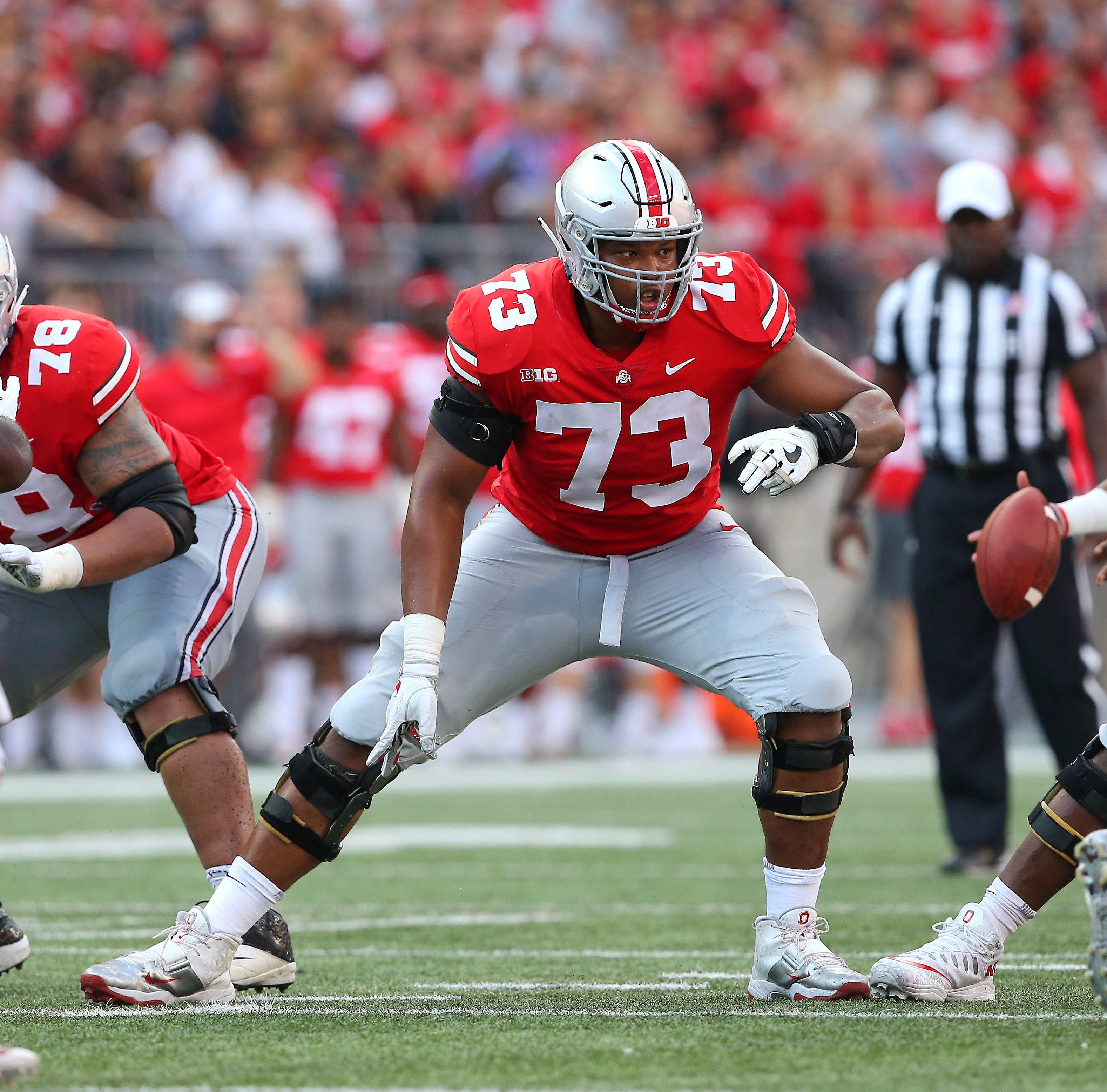 Former Plymouth, Ohio State OL Michael Jordan drafted by Cincinnati Bengals in 4th round