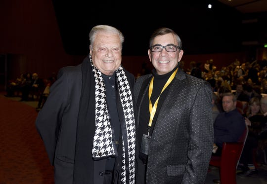 Film Festival Chairman Harold Matzner and Palm Springs Mayor Rob Moon