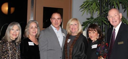 (L to R) Patron Party Committee:Gail Sacdron, NonaSolowitz, Lee Erwin, Debra Kay, AvivaSnow and Sandy Seplow, President, JFS Desert