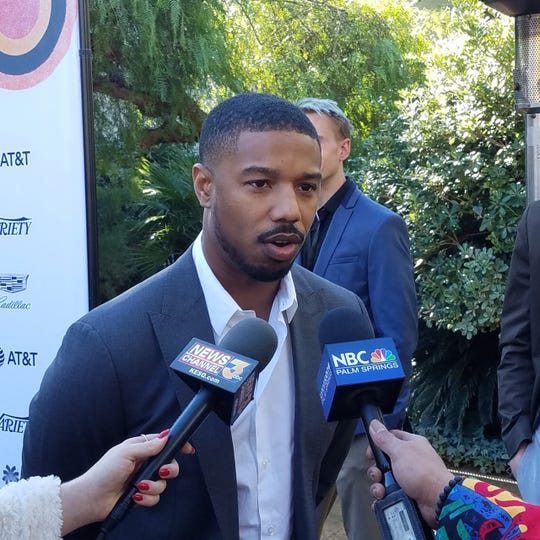 Michael B. Jordan starred in the Black Panther and was a Presenter at Variety Brunch