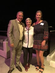 Jerry Upham General Manager of CBS, Kelli Biello Development Manager ACS, and Dona Upham.