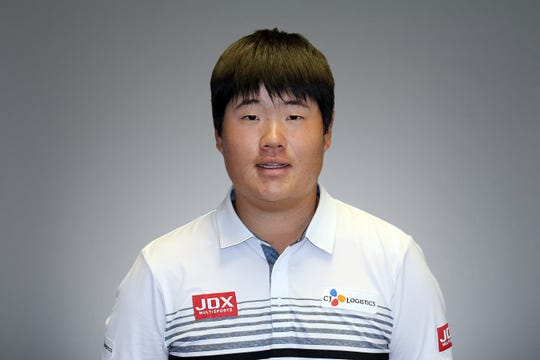 Sungjae Im current official PGA TOUR headshot.