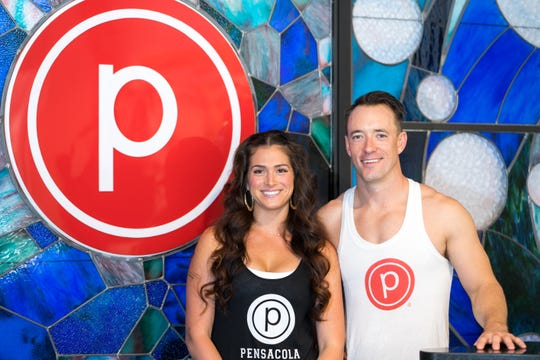 Kevin and Catalina Lehman, the owners of Fosko and Pure Barre, run a formidable combination of coffee and fitness next door to each other on Palafox.