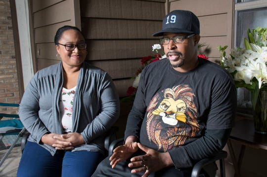 Davisa and Earl Banks talk about their son Sean and daughter Antoinette at their home in Pensacola on Thursday, January 17, 2019.  Sean Banks, 15, and Antoinette McCoy, 22, were killed by a suspected drunk driver in a car crash early Saturday morning.