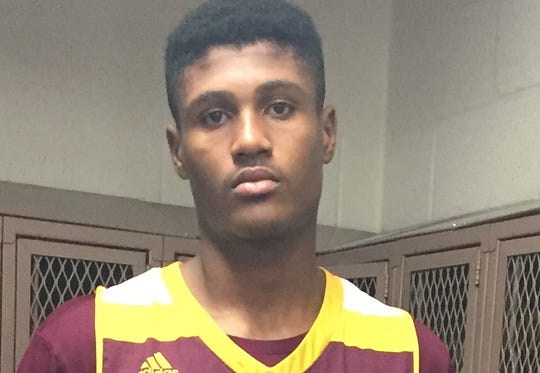Shemar Wilson of Tolleson Union is the High School Boys Athlete of the Week