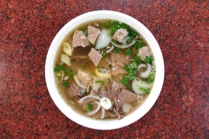 Best pho in Phoenix at these restaurants