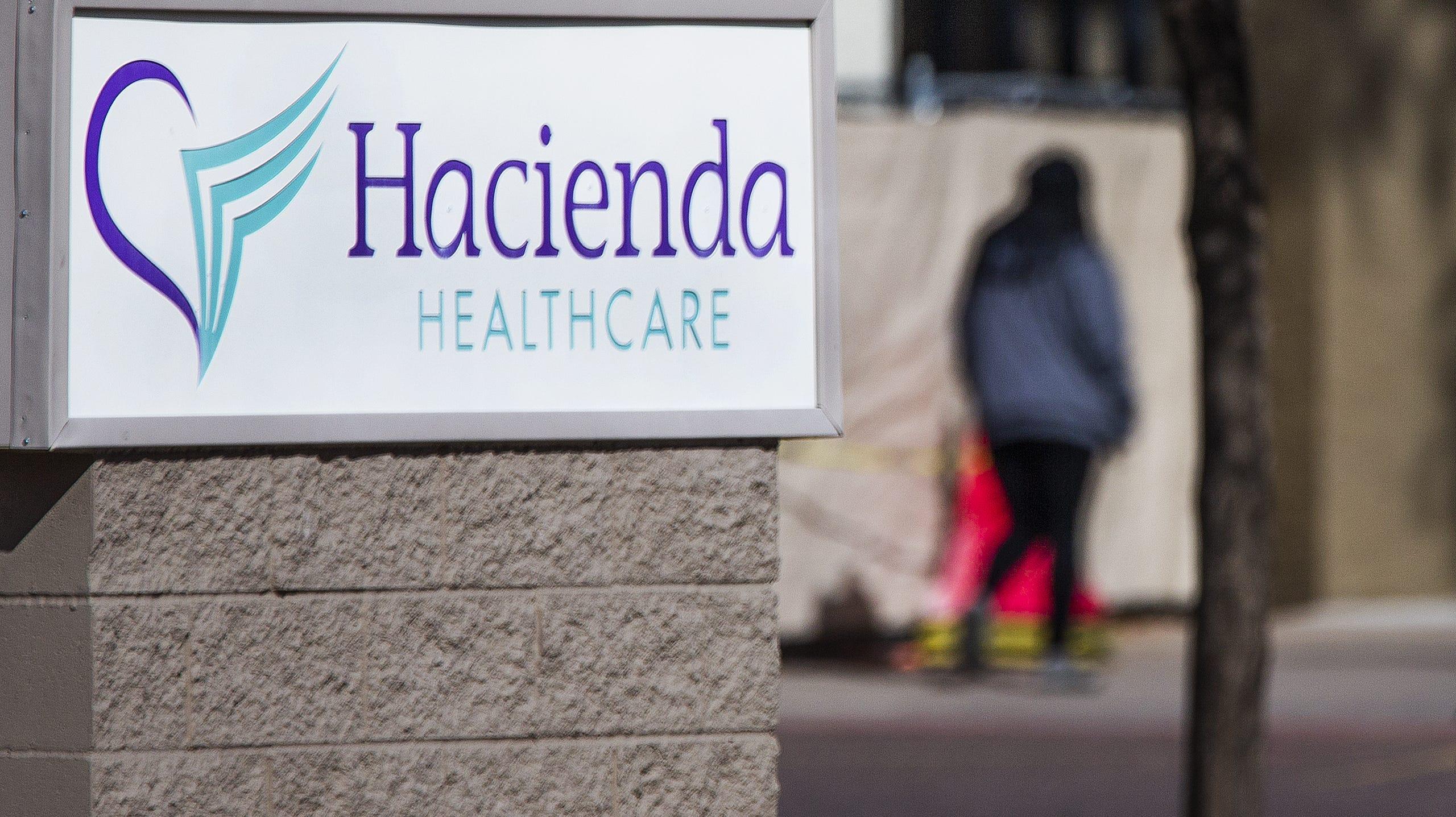 Exterior of Hacienda HealthCare, 1402 E. South Mountain Drive in Phoenix.