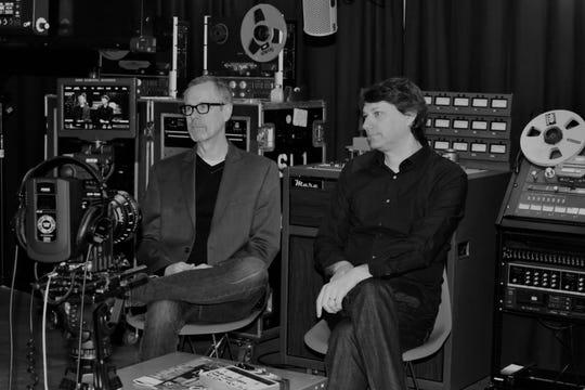 David Hilker and Jeff Freundlich at Fervor Records