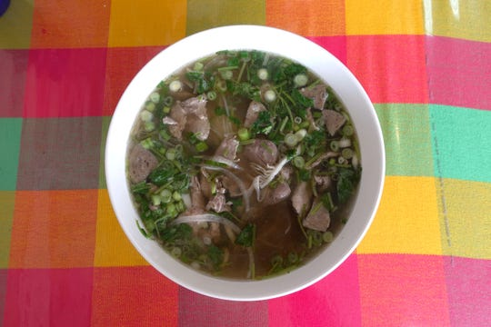 Pho dac biet at UK Pho Vietnamese Cuisine in Glendale.
