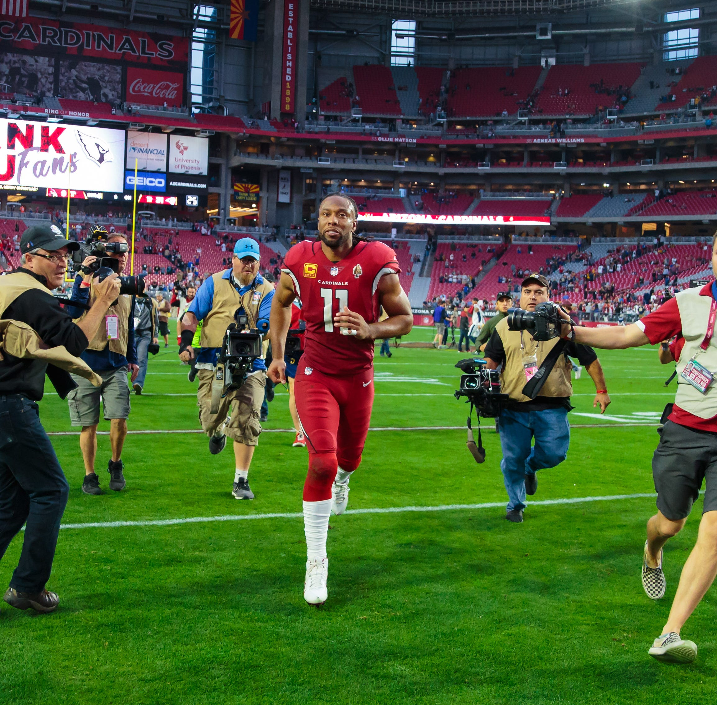 Larry Fitzgerald praises Kliff Kingsbury, talks possibility of return to Arizona Cardinals