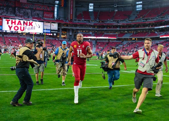 Will Larry Fitzgerald ever wear an Arizona Cardinals uniform again?