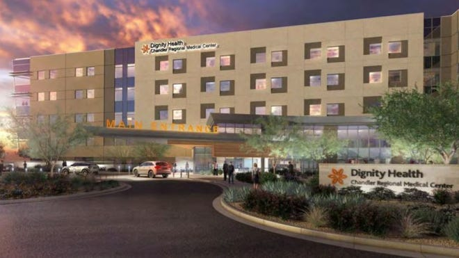 Dignity Health will expand its medical campus in Chandler.