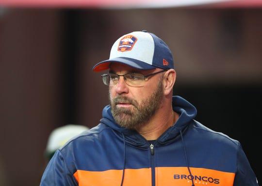 Sean Kugler was the Broncos' offensive line coach last season under Vance Joseph.