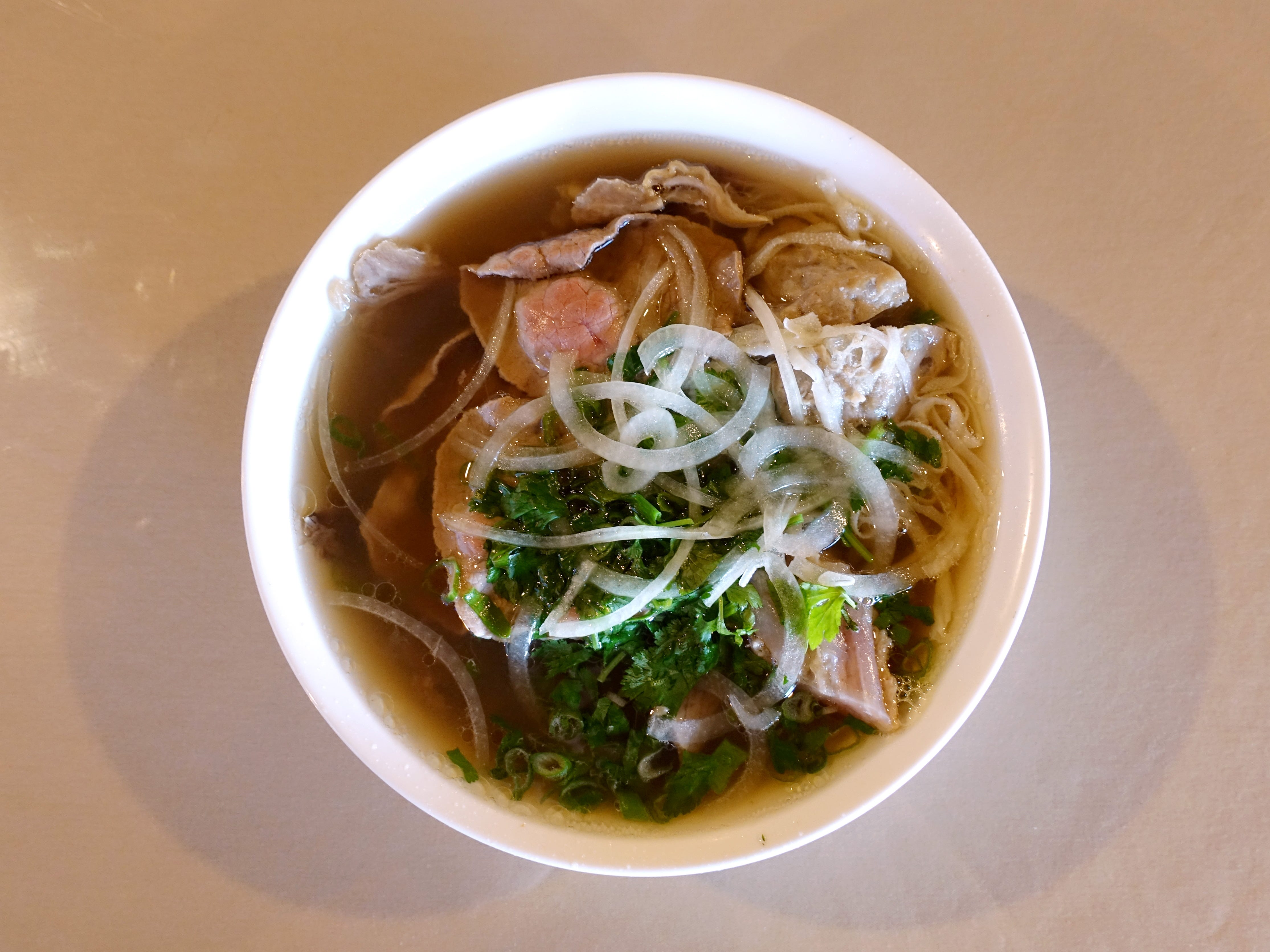 Pho dac biet at AZ Pho & Grill in Chandler.