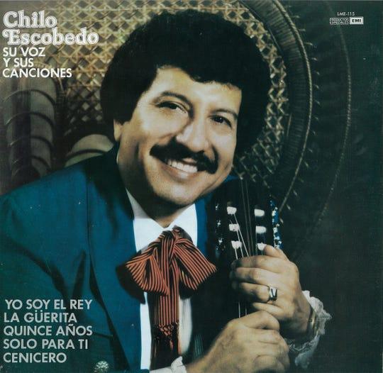 Chili Escobedo record sleeve