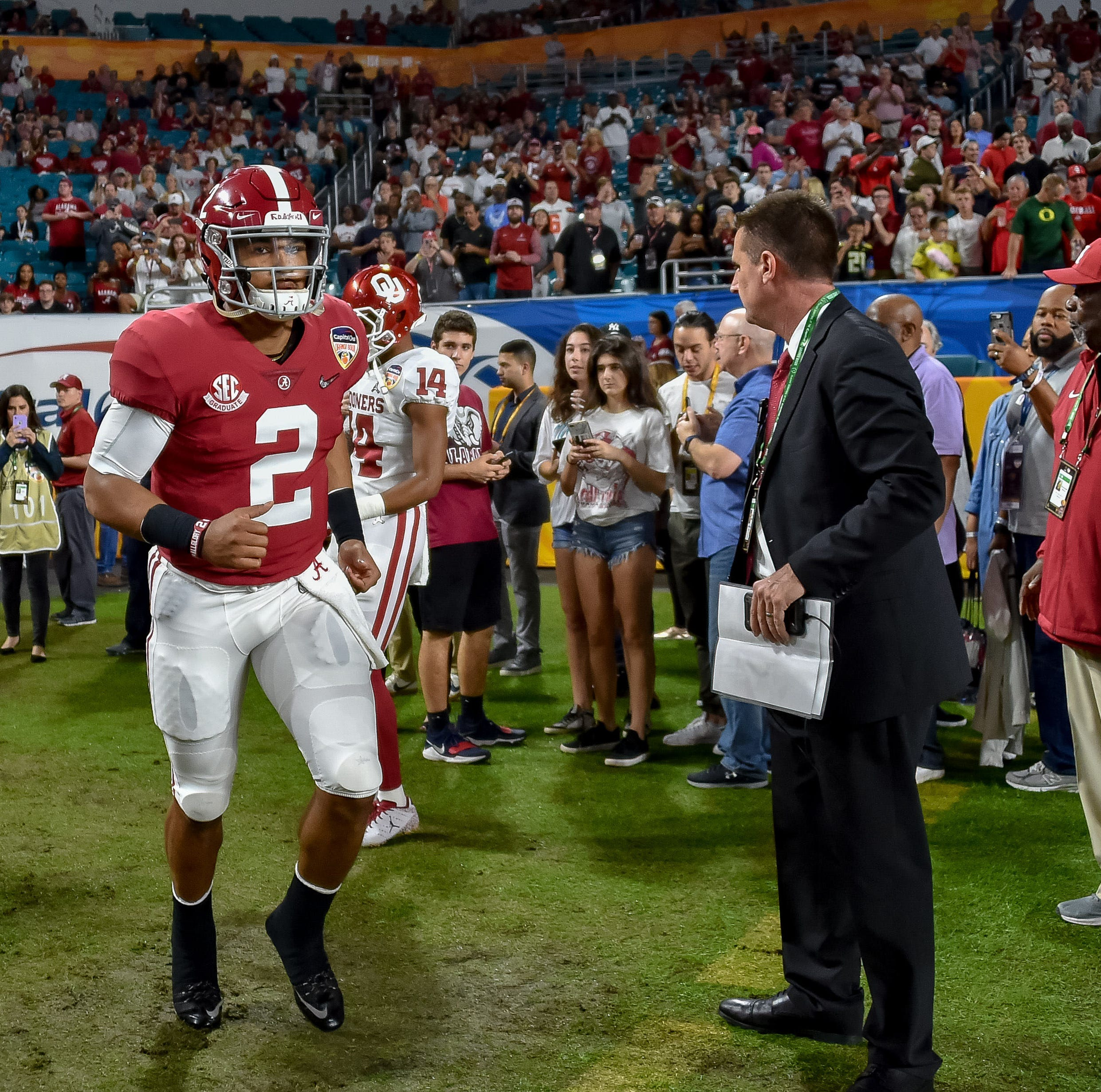 Jalen Hurts is taking his talents to Norman, Oklahoma. Is a Heisman Trophy in his future?