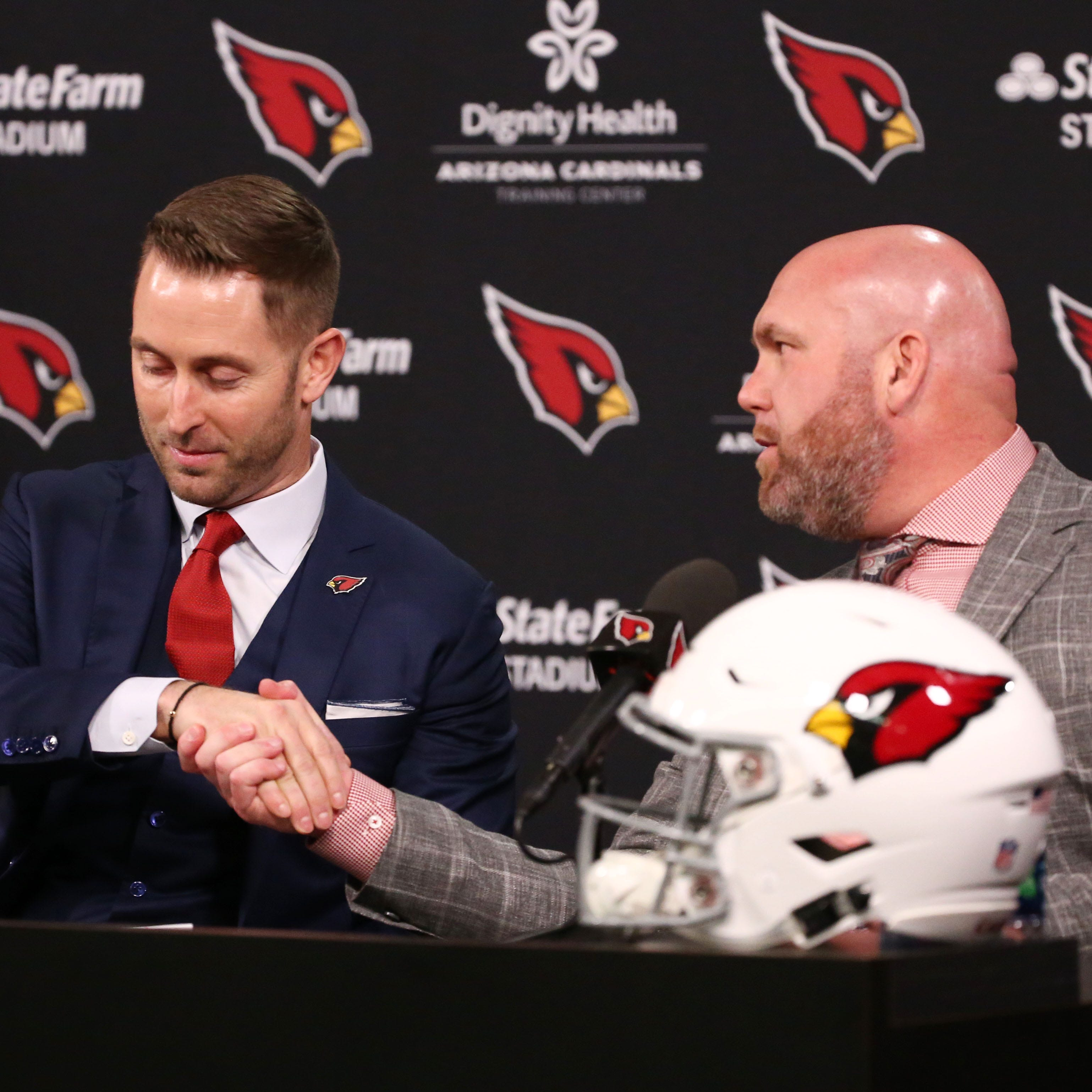 Cardinals' staff solid so far under Kliff Kingsbury, despite lack of offensive coordinator