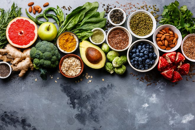 A variety of healthy foods will jump-start a heart-healthy lifestyle.