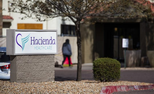 Exterior of Hacienda HealthCare, 1402 E. South Mountain Drive in Phoenix.