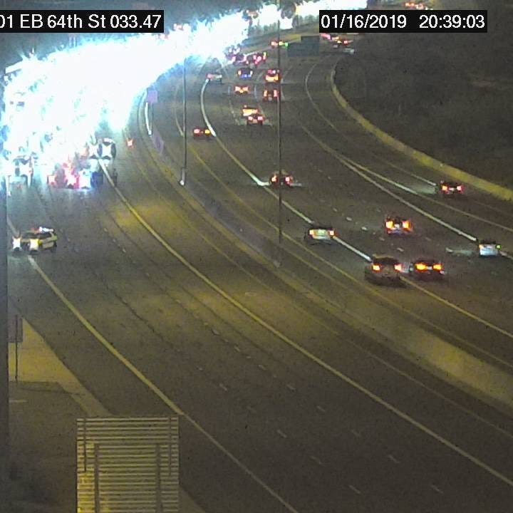 10-year-old killed in rollover crash; eastbound Loop 101 shut in northeast Phoenix