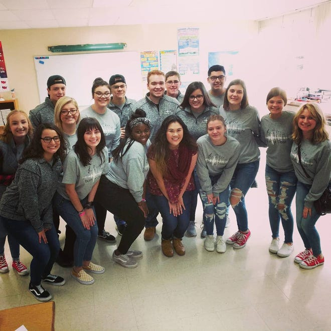 Port Clinton High School Touch of Class will be one of six groups performing on Friday at the International Championship of High School A Cappella Quarterfinal held in the PCHS Performing Arts Center.