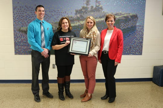 """The Department of Education Office's Ohio PBIS Network honored Bataan Primary School with their """"Silver Recognition"""" award for 2018."""