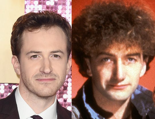 Dutchess County actor Joe Mazzello, left, and Queen base player John Deacon, right.